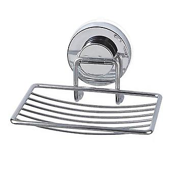 Soap dishes holders suction cup soap holder drain stainless steel wall mounted soap dish accessories|soap dishes