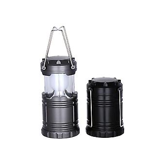 Outdoor chairs outdoor super bright camp tent lights automatically pull camping lights - black black bulb