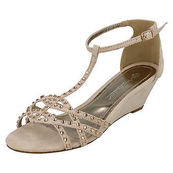 Dames Anne Michelle wig sandalen F10277