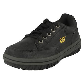 Boys Caterpillar Casual Lace Up Shoes Decade