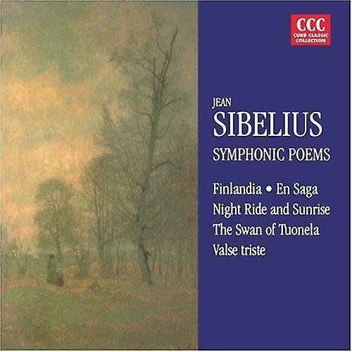 J. Sibelius - Sibelius: Finlandia; Valse Triste; Night Ride and Sunrise; the Swan of Tuonela; En Saga [CD] USA import
