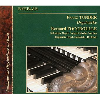 F. Tunder - Organ Works [CD] USA import