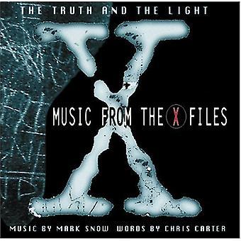 X-arquivos-verdade e a luz - importação EUA TV Pontuação [CD]
