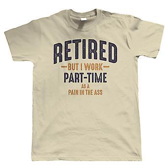 Jubilado Hombres Divertido Camiseta - Regalo de Jubilación para él Papá Abuelo