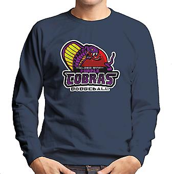 Purple Champs Globo Gym Purple Cobras Dodgeball Men's Sweatshirt