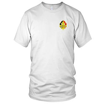 US Army - 72nd Signal Battalion Embroidered Patch - Mens T Shirt