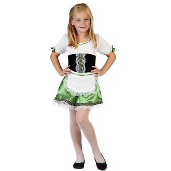 Infantiles disfraces traje de chica alemana de las muchachas