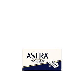 Lame di rasoio inox doppio bordo Astra Superior (5 lame)