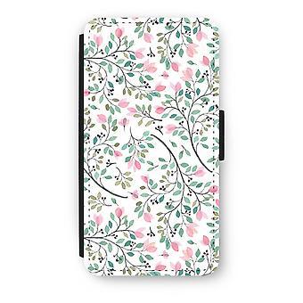 iPod Touch 6 Flip Case - Dainty flowers