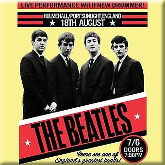 The Beatles Fridge Magnet 1962 Port Sunlight poster new Official 76mm x 76mm