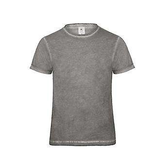 B & C Denim Mens Plug In T Shirt