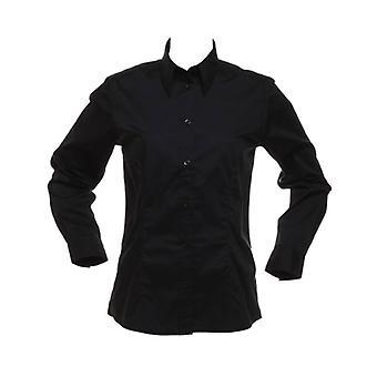 Kustom Kit Womens Bar blouse long sleeve Shirt