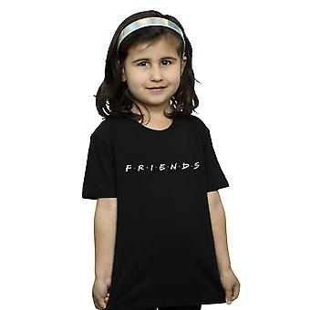 Friends Girls Text Logo T-Shirt