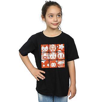 Galaksi Retro T-Shirt Marvel Girls Kawaii Guardians