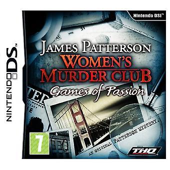 Womens Murder Club Games Of Passion (Nintendo DS) - Fabrik versiegelt
