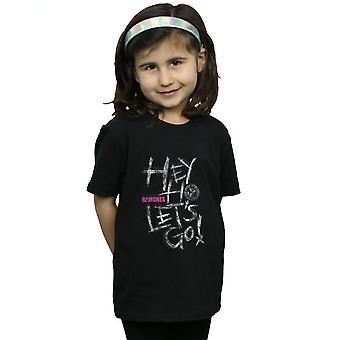 Meninas de Ramones Hey Ho vamos t-shirt