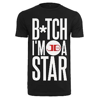 Urban Classics T-Shirt Jason Derulo B * tch ik ben een ster