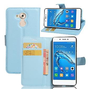 Prime de poche portefeuille bleu pour le Huawei honor 6C protection manches étui nouveau