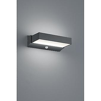 Trio Lighting Cuando Modern Anthracite Diecast Aluminium Wall Lamp
