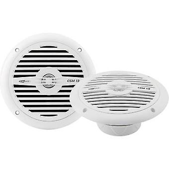 Caliber Audio Technology CSM13 NEW 2 way coaxial flush mount speaker kit 120 W