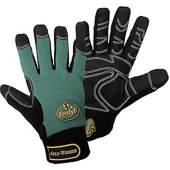 FerdyF. Cold Worker 1990 Clarino faux leather Work glove Size (gloves): 7, S EN 388 , EN 511 CAT II 1 Pair