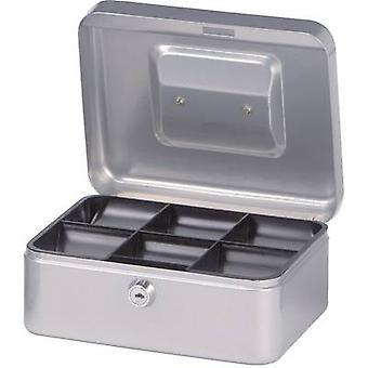 Maul 19200 Cash box (W x H x D) 200 x 90 x 170 mm Silver