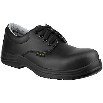 Amblers Safety Mens FS662 Lace Up Waterproof Safety Boots Black