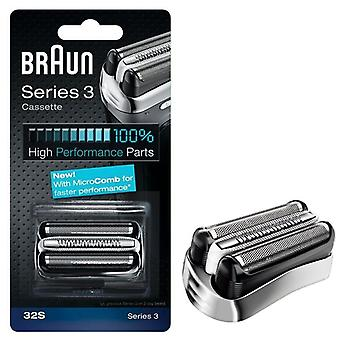 Braun 32S Series 3 Electric Shaver Replacement Cassette Cartridge Foil