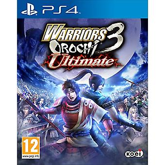 Warriors Orochi 3 Ultimate (PS4)-nieuw