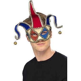Venetian Musical Jester Eyemask.  One Size