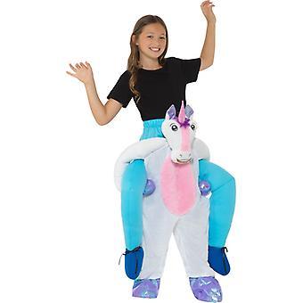 Huckepack copii costum unicorn Carnavalul copii piggyback unicorn costum