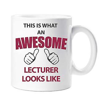 Dette er, hvad en Awesome Foredragsholder ligner krus