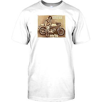 Team 11 Benzina - klassischen Ducati-Poster-Herren-T-Shirt