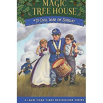 Borgerkrigen på søndag (Turtleback skolen &; biblioteket bindende Edition)