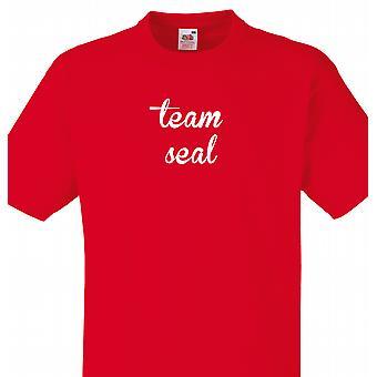 L'équipe Seal rouge T shirt