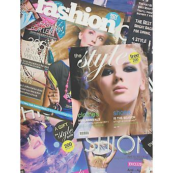 Fashion Wallpaper Magazine Print Girls Bedroom Typography Metallic MultiColoured