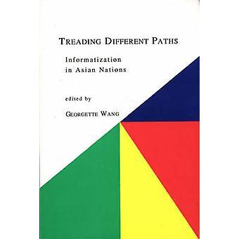 Informatie van de verschillende paden betreden in Aziatische Naties door Wang & Georgette