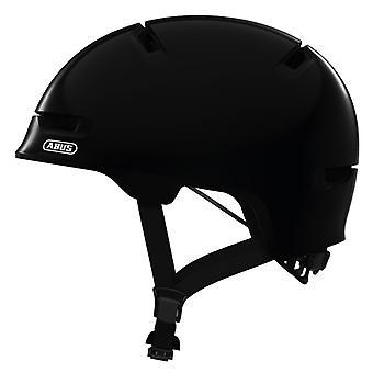 Abus scraper kid 3.0 bike helmet / / shiny black