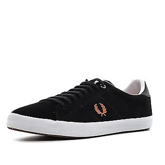 Sapatos B7469-220 Fred Perry Howells camurça couro masculino