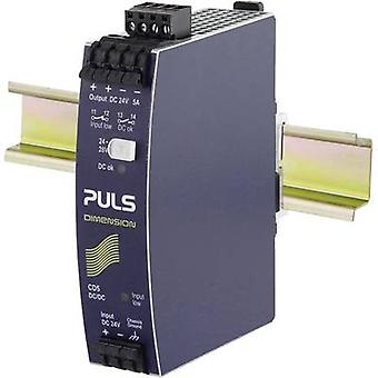 PULS CD5.241-S1 rail mount DC/DC converter, output: 24 Vdc 5 A 120 W