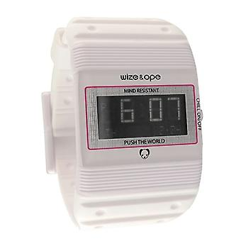 Wize and Ope Seventy Seven  White Digital  Watch WO-77-6