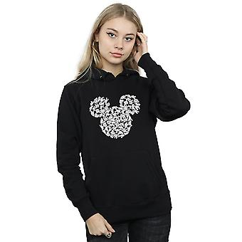 Disney Women's Mickey Mouse Head Of Hands Hoodie