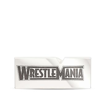 WWE WrestleMania Pin In Sterling Silver