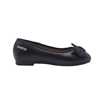 bebe Girls Ballet Flats Little Kid Mary Jane Slip On Sandals With Bow