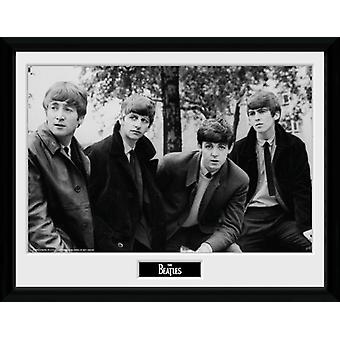 The Beatles Pose Framed Collector Print 40x30cm