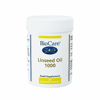 BioCare lenmag olaj 1000 Vegicaps 90 (30490)