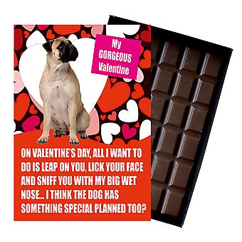 Bullmastif Gift for Valentines Day Presents For Dog Lovers Boxed Chocolate