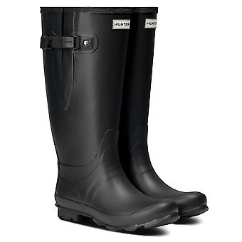 Hunter Norris Field Wide Womens Wellington Boots - Noir