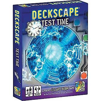 Deckscape Test Time - A Pocket Escape Room Game