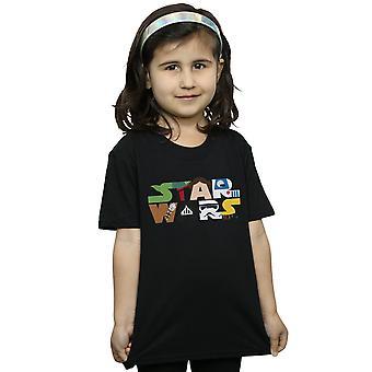 Star Wars Girls Character Logo T-Shirt